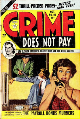 Crime does not Pay #92. Click for current values.