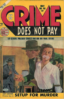 Crime does not Pay #98. Click for current values.