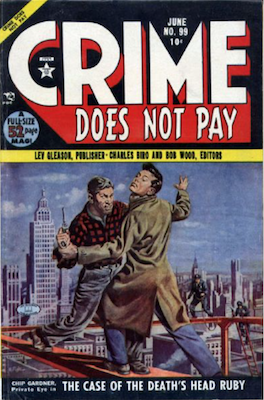 Crime does not Pay #99. Click for current values.