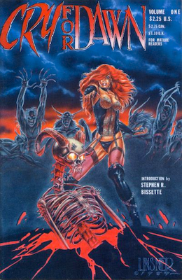 Cry For Dawn #1 (1989): First appearance of Dawn; 1st Printing. Click for values