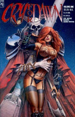 Cry For Dawn #1 (1989): First appearance of Dawn; 2nd Printing. Click for values