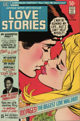 DC 100-Page Super-Spectacular #5. Love stories replica. Click for values