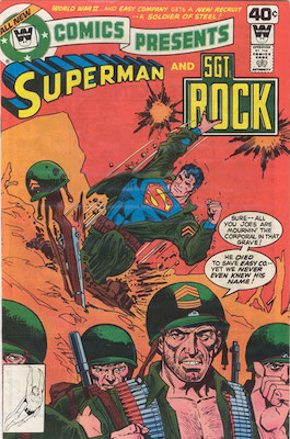 DC Comics Presents #10. Click for current values.