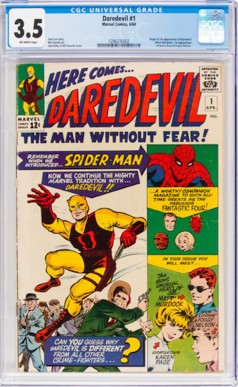 Wouldn't You Rather Own... Daredevil #1 CGC 3.5?