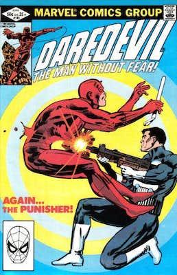 Daredevil #183: Classic Cover. Click for values