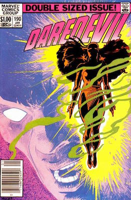 Daredevil #190 (Marvel, 1983): Resurrection of Elektra. Click for values