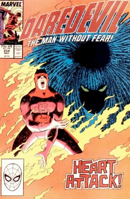 Daredevil #254: First Appearance of Typhoid Mary. Click for values