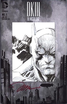 Dark Knight III: Master Race #1 (2016): Jim Lee Variant. Click for value