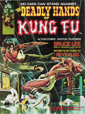 Deadly Hands of Kung-Fu Magazine #1: Origin of Sons of the Tiger. Click for values