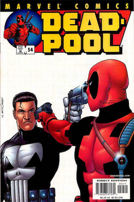 Deadpool #54 (Marvel, 2008): First Deadpool/Punisher Comic Book. Click for values