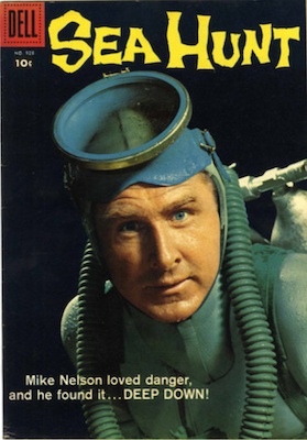 Sea Hunt: Four Color #958 (1958). Dell Comics. Click for values