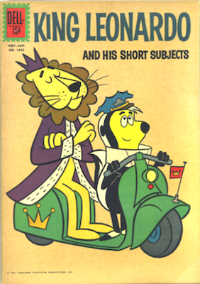 King Leonardo and his Sleepy Subjects: Four Color #1242. Click for values