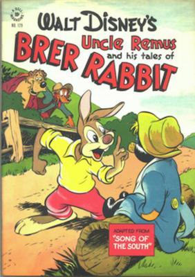 Brer Rabbit: Dell Four Color #129. Click for values