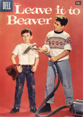 Leave it to Beaver: Four Color #912. Click for values