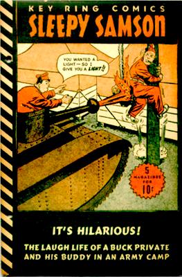 Dell Key Ring Comics #1 (1941). Sleepy Samson. Click for values
