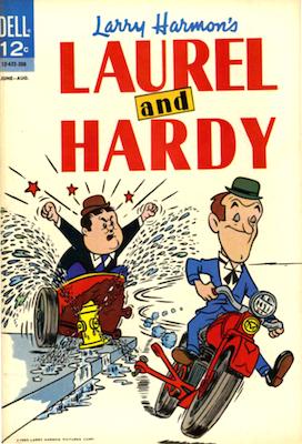 Dell Laurel and Hardy Comics #3. Click for values
