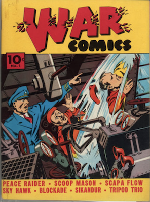 War Comics #1 (1940), Dell. Click for values