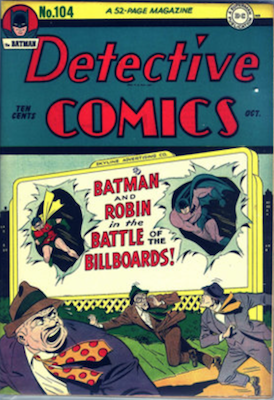 Detective Comics #104. Click for current values.