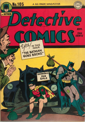 Detective Comics #105. Click for current values.