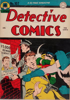 Detective Comics #107. Click for current values.