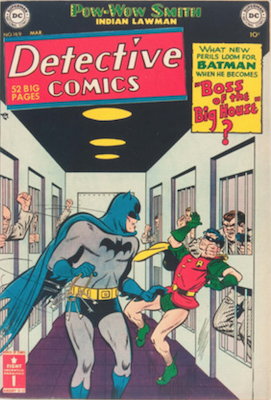 Detective Comics #169. Click for current values.