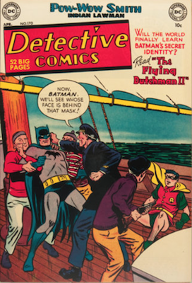 Detective Comics #170. Click for current values.