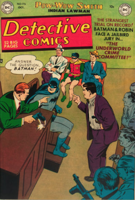Detective Comics #176. Click for current values.