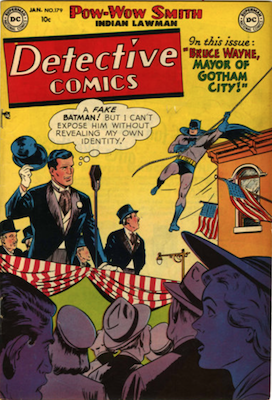 Detective Comics #179. Click for current values.