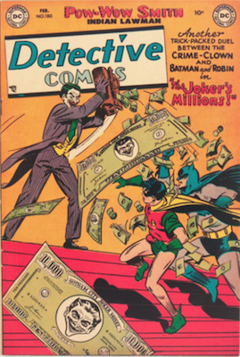 Detective Comics #180. Click for current values.
