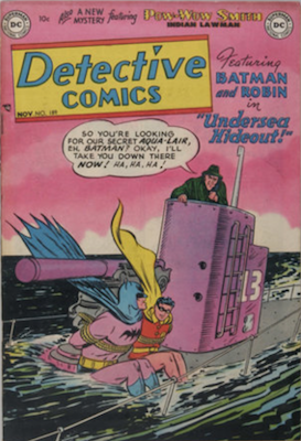 Detective Comics #189. Click for current values.