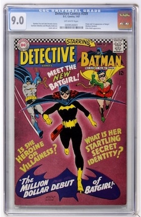 Another book which commonly shows up around VG shape, Detective Comics #359 is a great investment in VF-NM condition. Prices are on the rise.