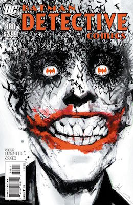 Detective Comics #880 (2011): Classic Joker Cover by Jock. Click for value