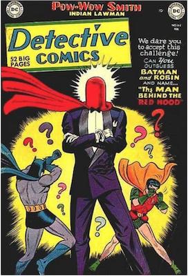 Detective Comics #168: Origin of Joker / Red Hood. Click for values