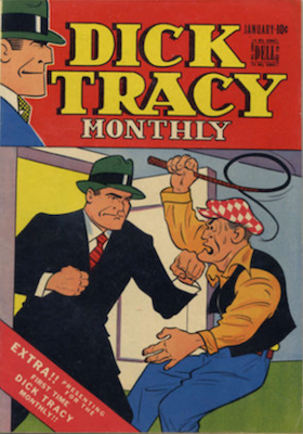 Dick Tracy Monthly #1 (1948), Dell Comics. Click for values