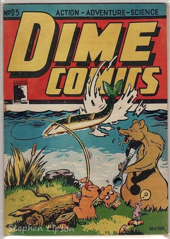 Dime Comics #25
