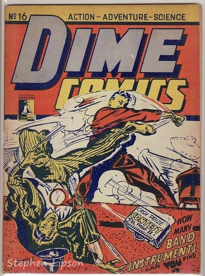 Dime Comics #16