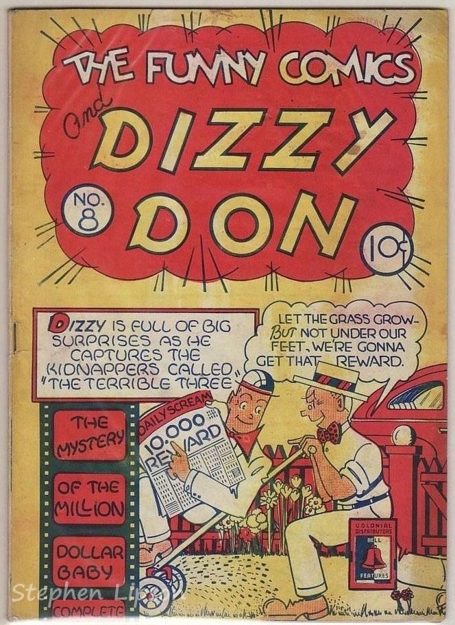 The Funny Comics #8