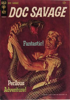 Doc Savage #1 (1966), Gold Key comics. Click for values