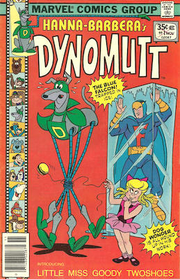 Dynomutt #1 (Marvel Comics, 1977-78). Features Scooby Doo in all issues. Click for values