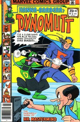 Dynomutt #2 (Marvel Comics, 1977-78). Features Scooby Doo in all issues