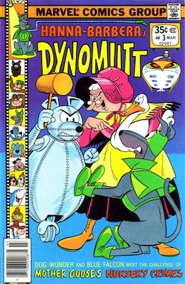 Dynomutt #3 (Marvel Comics, 1977-78). Features Scooby Doo in all issues