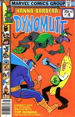 Dynomutt #4 (Marvel Comics, 1977-78). Features Scooby Doo in all issues