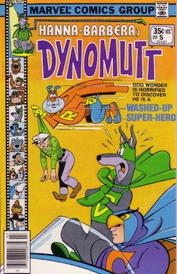 Dynomutt #5 (Marvel Comics, 1977-78). Features Scooby Doo in all issues