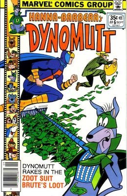 Dynomutt #6 (Marvel Comics, 1977-78). Features Scooby Doo in all issues