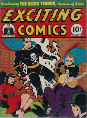 Exciting Comics #12. Click for current values.
