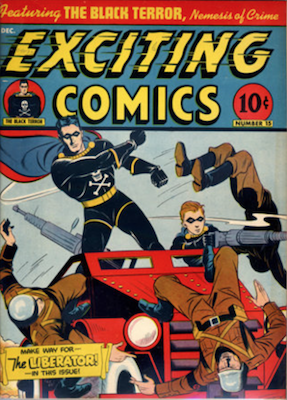 Exciting Comics #15. Click for current values.