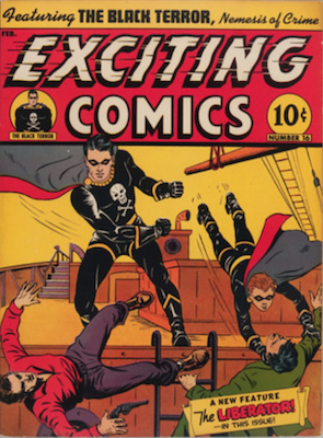 Exciting Comics #16. Click for current values.