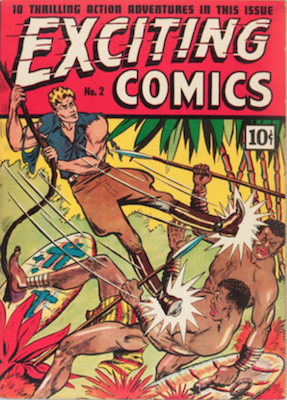 Exciting Comics #2. Click for current values.