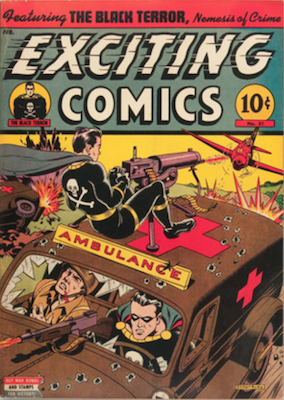 Exciting Comics #31. Click for current values.