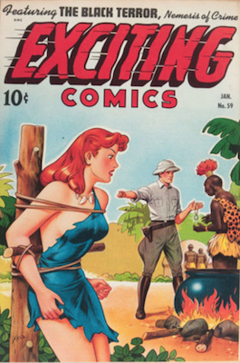 Exciting Comics #59. Click for current values.